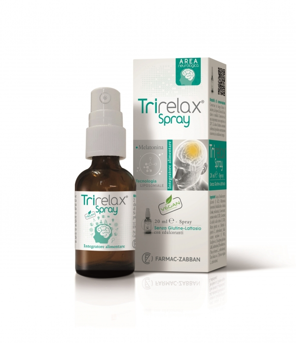Integratore Aimentare Naturale TRIRELAX Spray Area Neurologica